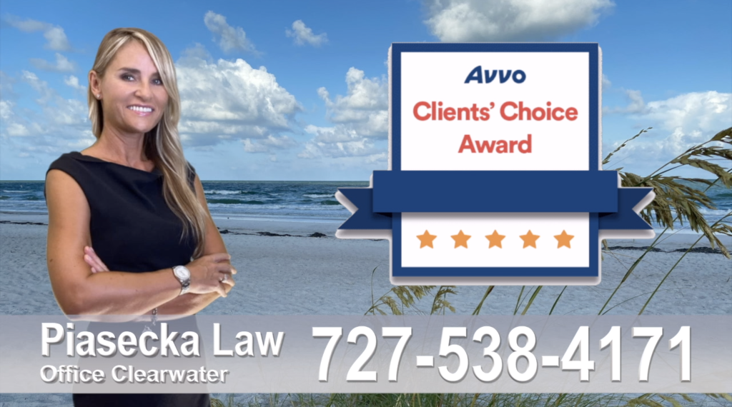 Polish, attorney, lawyer, clients, best, reviews, award, avvo, Clearwater